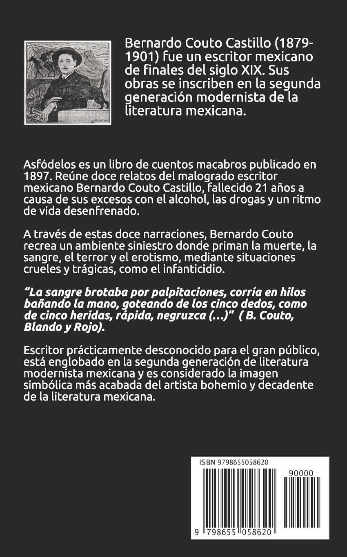 Asfódelos: Amazon.es: Couto Castillo, Bernardo: Libros