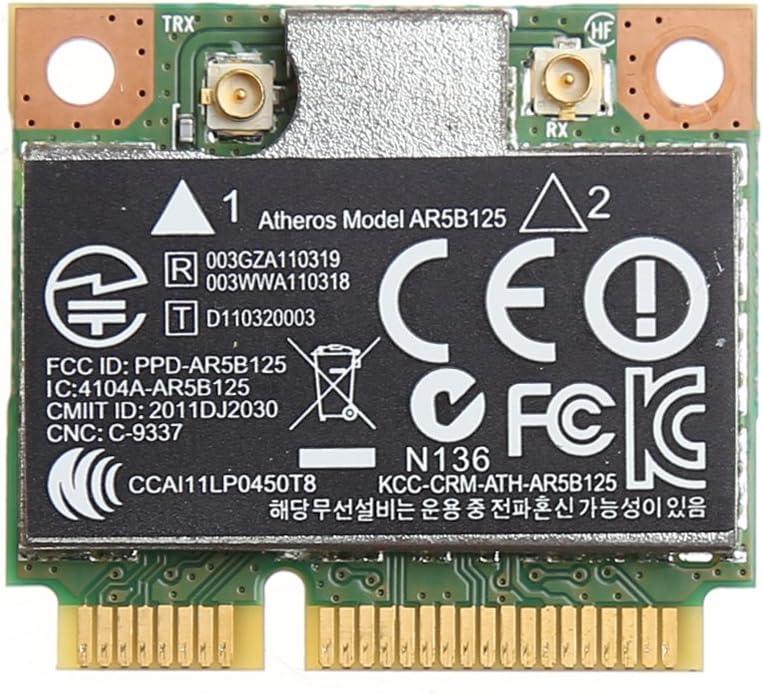 Wireless Express Adapter,WiFi Wireless PCI-E Card for Atheros AR5B125 SPS 675794-001 HP PN 670036-001 RGBIWCO