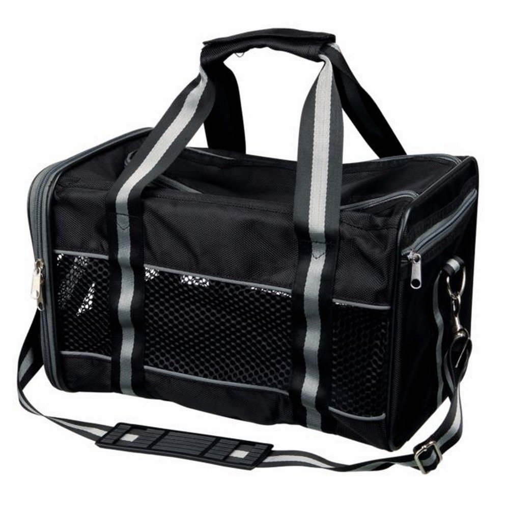 Trixie Mick Carrier (10.2 x 10.6 x 18.5 inch) (Black)