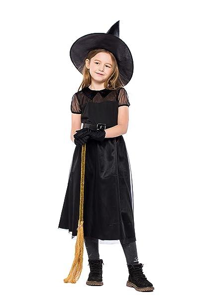 Amazon.com: Disfraz de bruja para Halloween, disfraz de ...