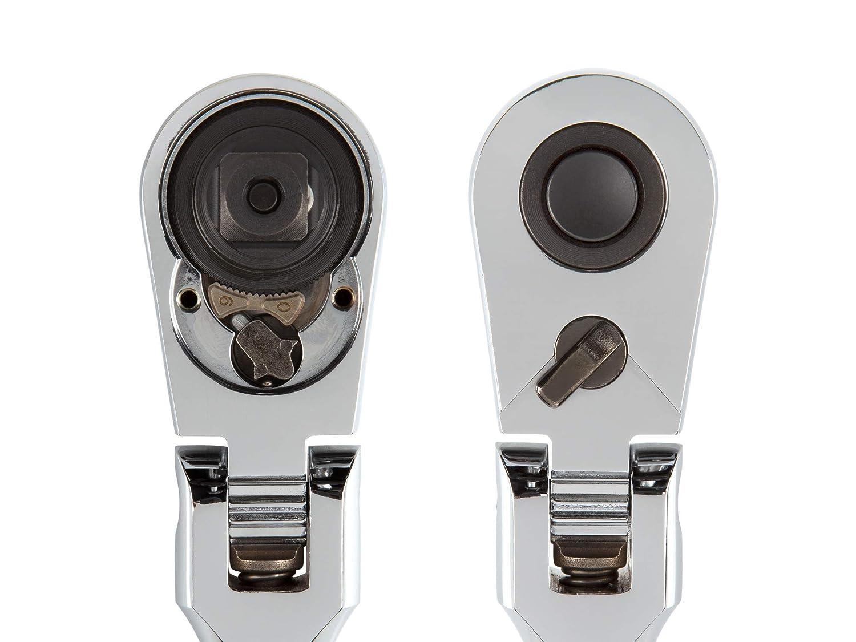 SRH31210 TEKTON 1//2-Inch Drive x 10-1//2-Inch Flex Quick-Release Ratchet