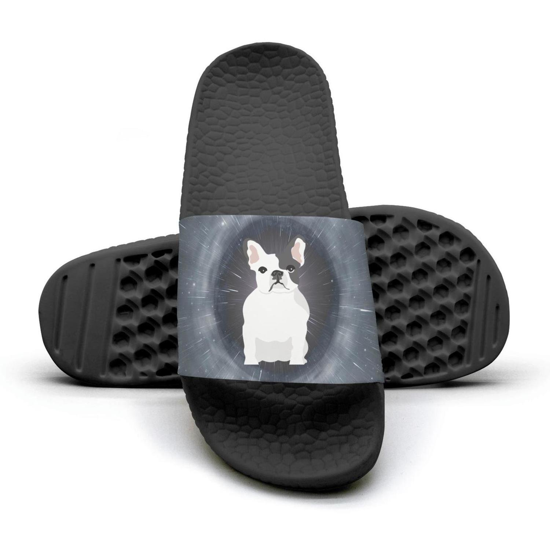 french bulldog puppies for dog lover flip flops Slippers for Men