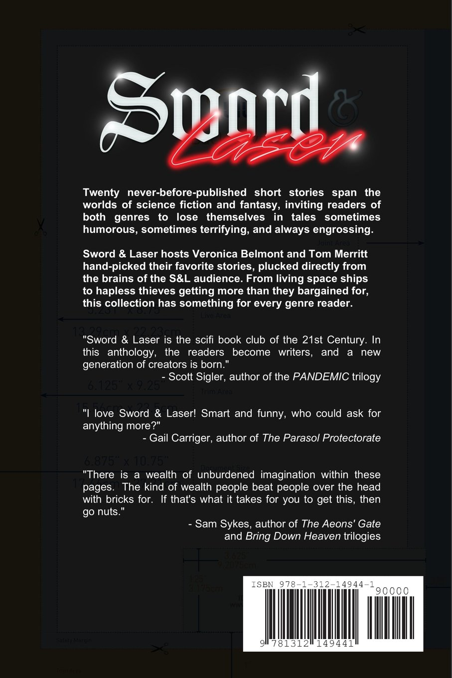 Sword And Laser Anthology: Veronica Belmont, Tom Merritt: 9781312149441:  Amazon: Books