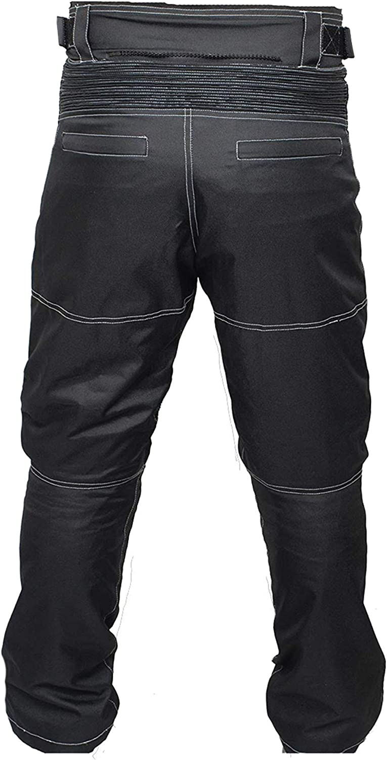 newfacelook Mens Motorcycle Trousers Thermal Biker Trousers Armoured Waterproof Motorbike Pants