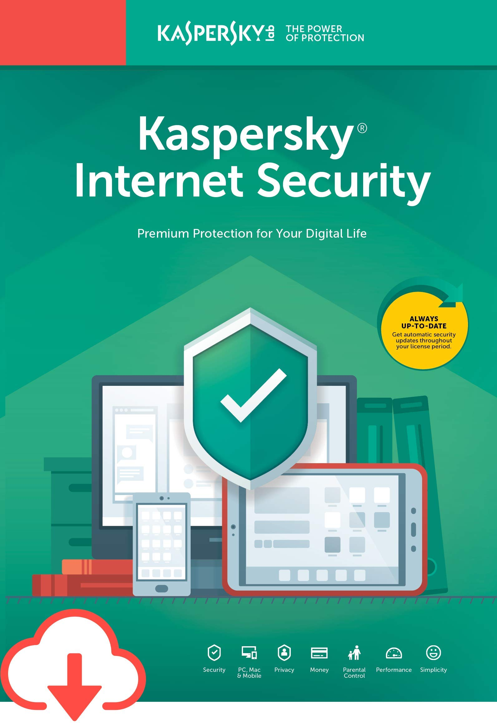 Kaspersky Internet Security | 1 Device | 1 Year [Download] by Kaspersky