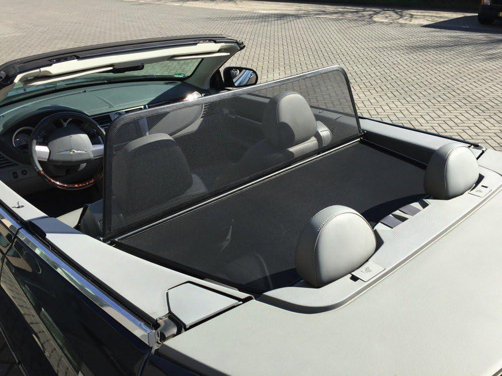 Aperta Wind Deflector fits Chevrolet,Corvette Corvette C6 Draft-Stop Wind Stop Chevrolet,Corvette Convertible Black Tailor Made Windblocker