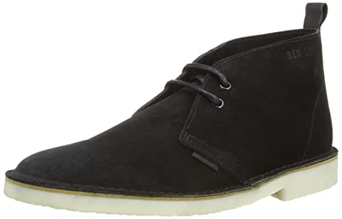 Ben Sherman Oleg, Men'S Desert Boots, Black (Black), 9 UK (