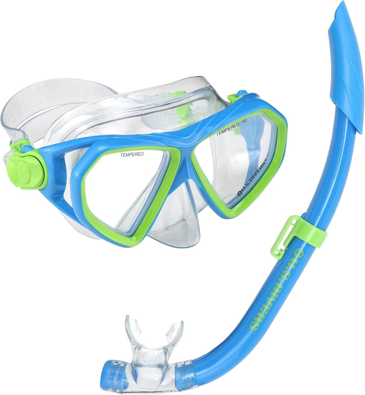 US Divers Dorado Seabreeze 4 Snorkel - Pack de Snorkel (Infantil ...