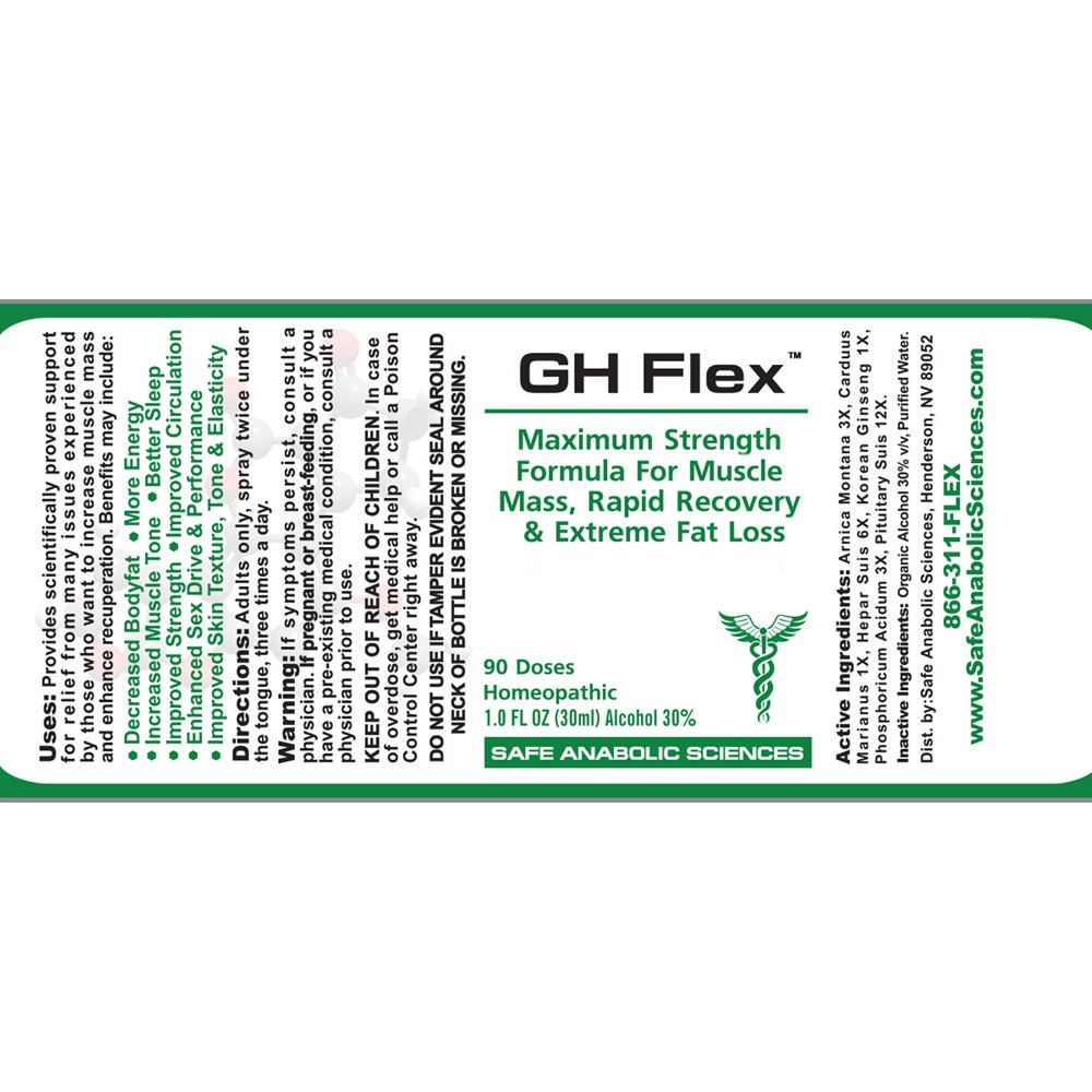 G H Flex - Natural Muscle Mass & Recuperative Agent By Top Legal Steroids & Muscle Stacks   3-Month Stack Supply   Rapid Recovery, Muscle Mass & Stamina   Bodybuilding Supplements by Safe Anabolic Sciences (Image #5)
