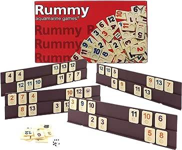 Outletdelocio. Juego Rummikub 4 jugadores. 106 fichas de plastico macizo: Amazon.es: Juguetes y juegos