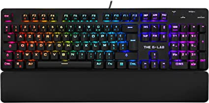 The G Lab Keyz RUBIDIUM E Clavier Mécanique Gaming AZERTY FR