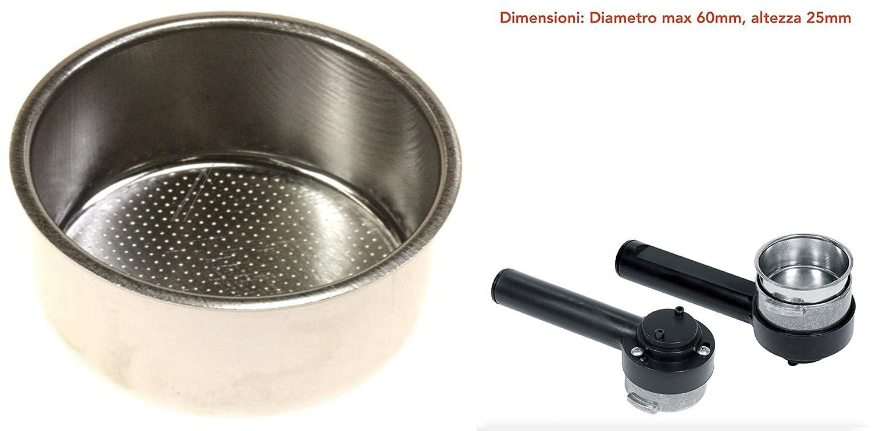 Filtro 2 Dosi para máquina de café espresso manual philips-saeco ...