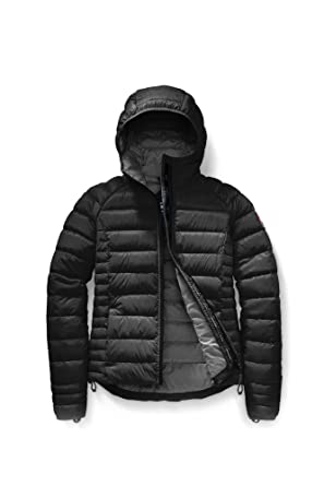 15fcf8b9132 Amazon.com: Canada Goose Women's Brookvale Hoody (X-Small, Black): Clothing