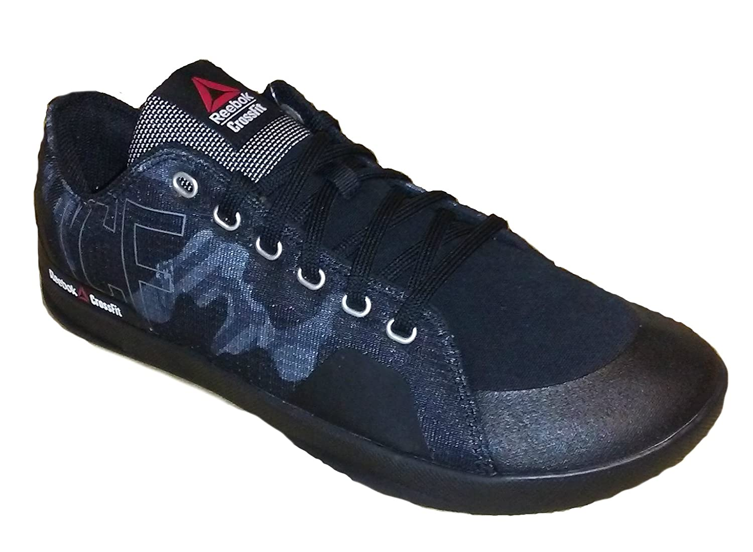 540a50400ad338 Reebok Mens Crossfit Lite Lo TR 2.0 GR Fitness Shoe Black Alloy White