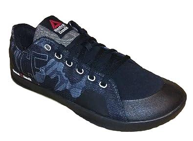 a06d9b907ce6b6 Reebok Mens Crossfit Lite Lo TR 2.0 GR Fitness Shoe Black Alloy White (