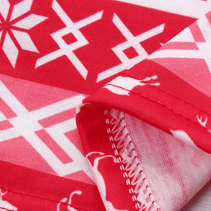 5c8929d36 Amazon.com  Christmas Pajamas Set Deer For Family Matching Women Men ...