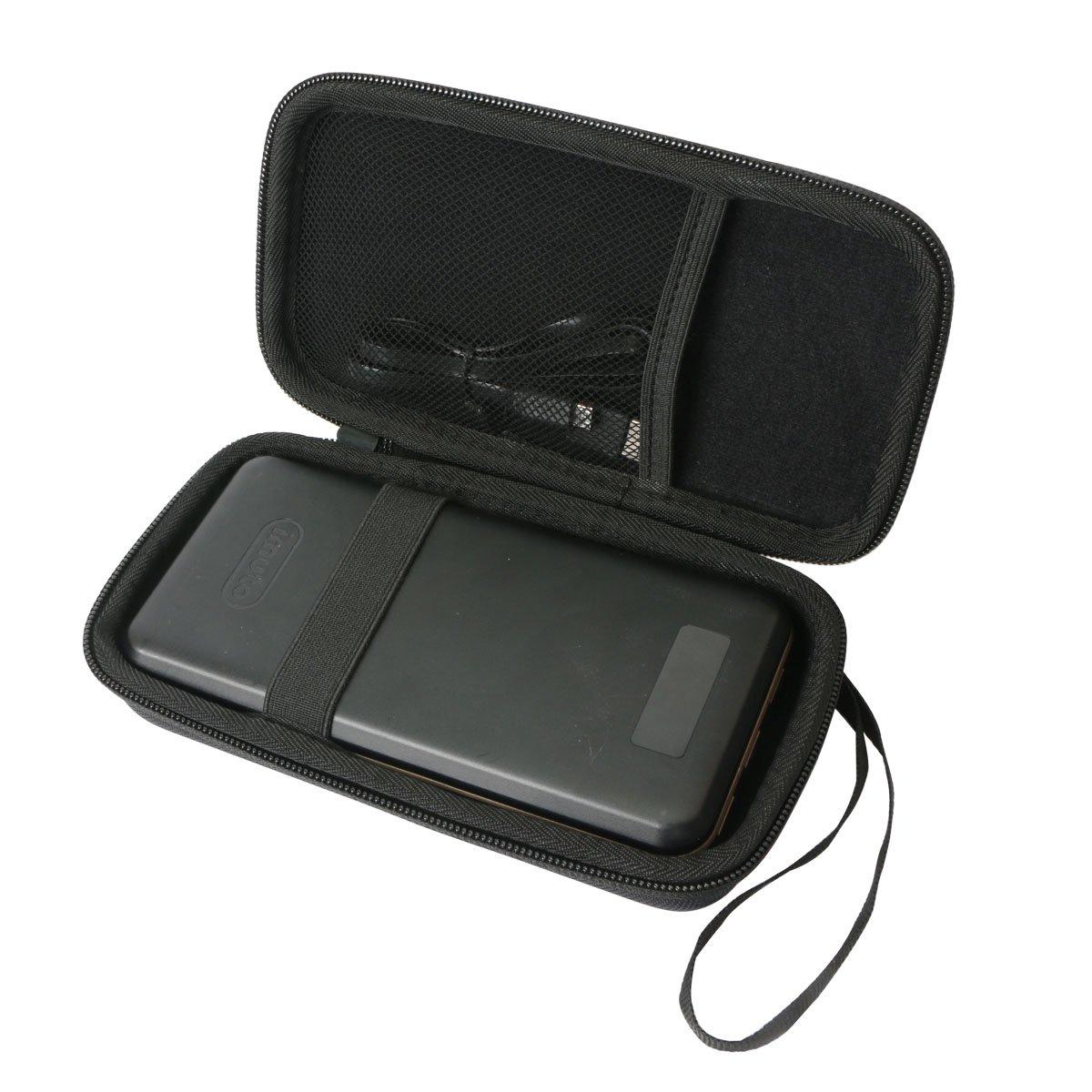Khanka Hard Case for iMuto 30000mAh Portable Charger X6, 3-Port USB Output Power Bank External Battery