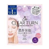 KOSE COSMEPORT CLEAR TURN Super Premium Moisturizing Fresh Mask 3 sheets (Hyaluronic...
