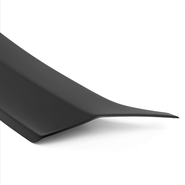 07.2009 bis 10.2013 passgenau mit Abkantung ABS Farbe schwarz Aroba AR483 Ladekantenschutz Sto/ßstangenschutz kompatibel f/ür Seat Exeo ST Kombi BJ