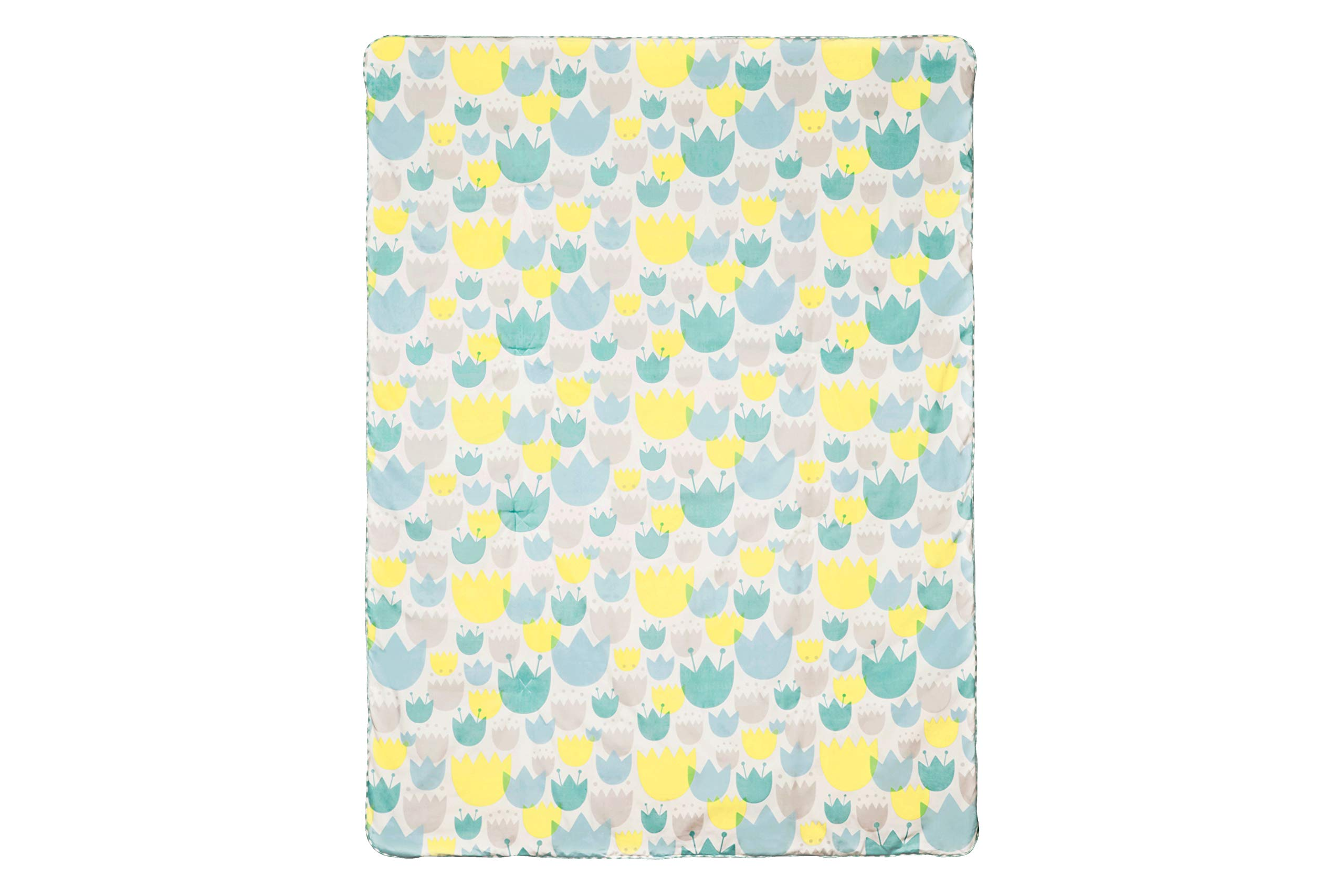 Babyletto Play and Toddler Blanket, Tulip Garden