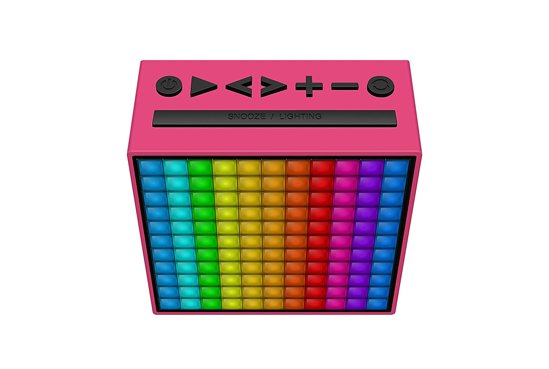 Divoom Timeboxmini Enceinte Bluetooth Connect/ée LED Mini Vert