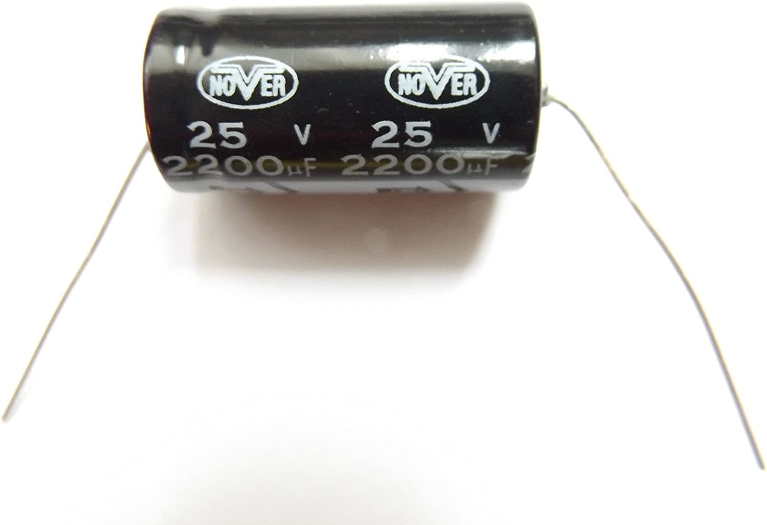 2200uf 25v 85c Nover Size 29mmx16mm Axial