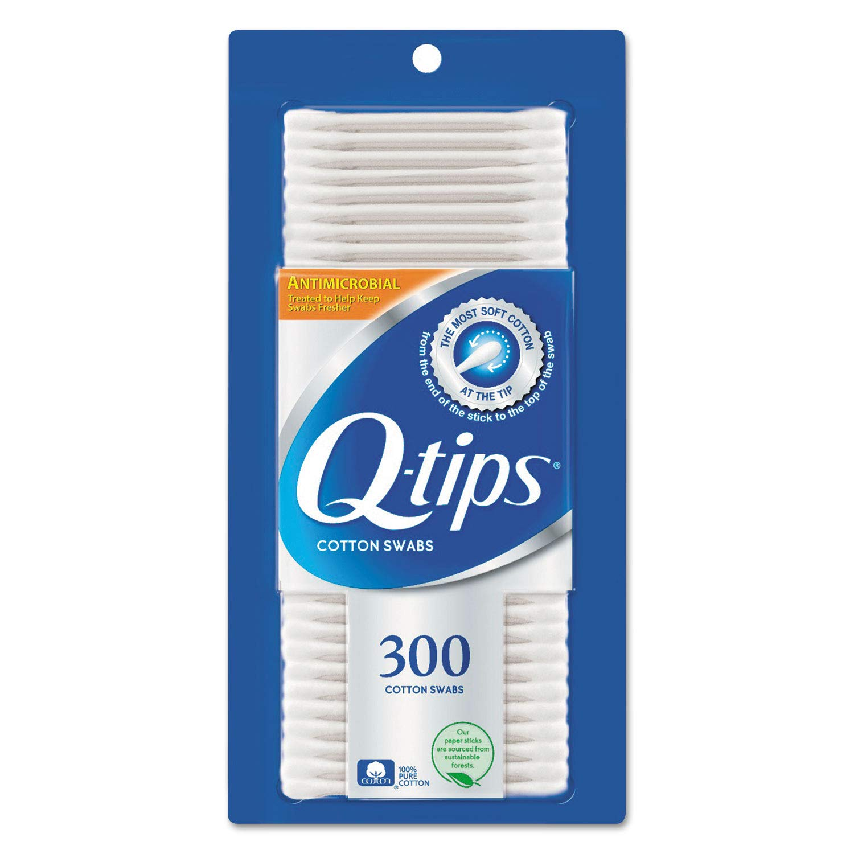 Q Tips Qtip Antibctrl Swab 300 Ct
