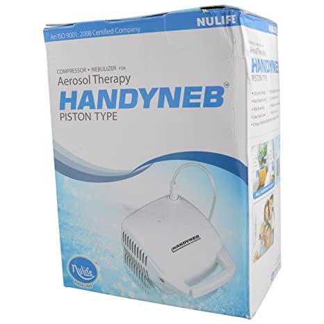 Nulife Compressor Nebulizer For Aerosol Therapy Handyneb Of Piston