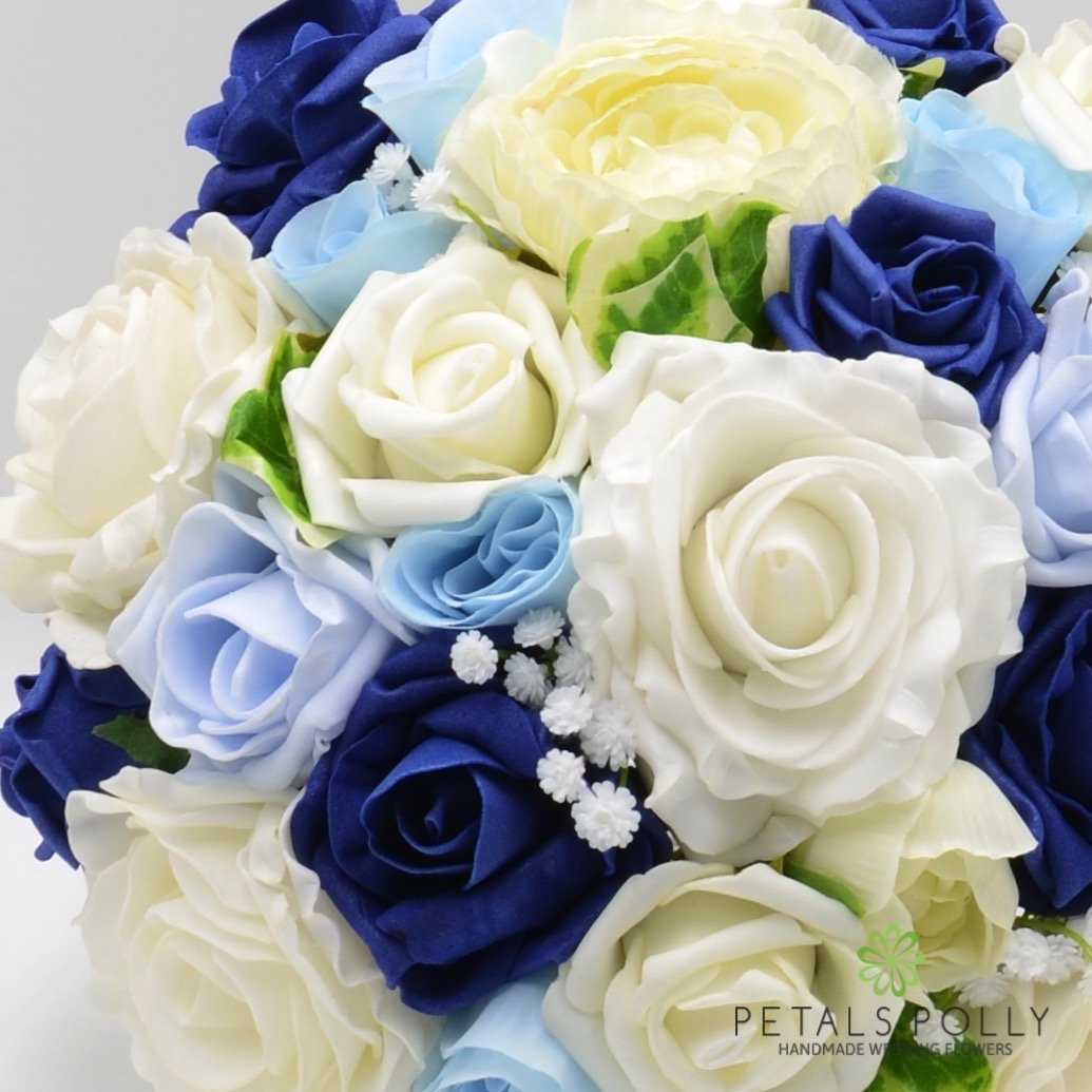Silk Wedding Flowers Hand-made by Petals Polly, BRIDES POSY, BABY ...
