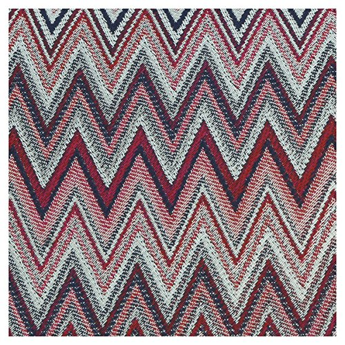 Missoni U4914 Red//Silver Chevron 100/% Silk Tie for mens