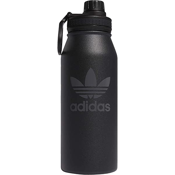 adidas Official Unisex Real Madrid CF Football Fans Water Bottle