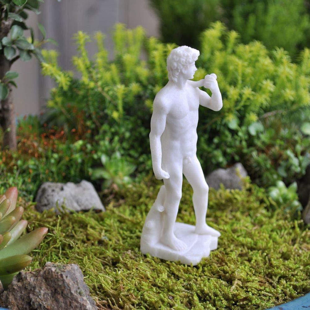 Miniature Dollhouse Fairy Garden - David Statue - Accessories