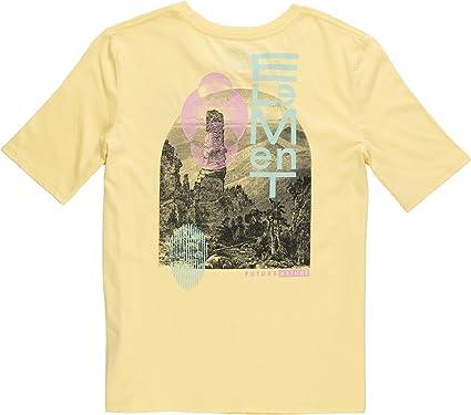 Element - Camiseta moderna para mujer, color rosa coral: Amazon.es: Ropa y accesorios
