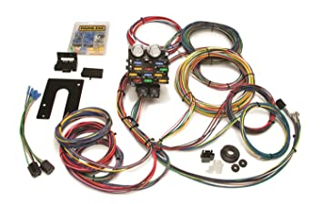 amazon com painless 50002 race car wiring harness kit automotive rh amazon com drag race car wiring diagram simple race car wiring diagram