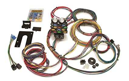 amazon com painless 50002 race car wiring harness kit automotive 18 Circuit Universal Wiring Harness