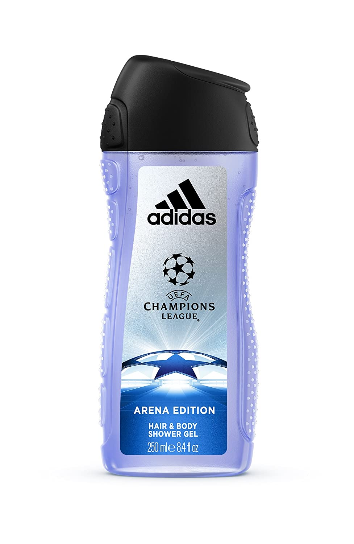 db30a649c329 Adidas - Confezione Regalo UEFA Champions League - Arena Edition: Profumo  Uomo 100 ml, Bagnoschiuma 250 ml, Deodorante Body Spray 150 ml e Beauty  Case Uomo: ...
