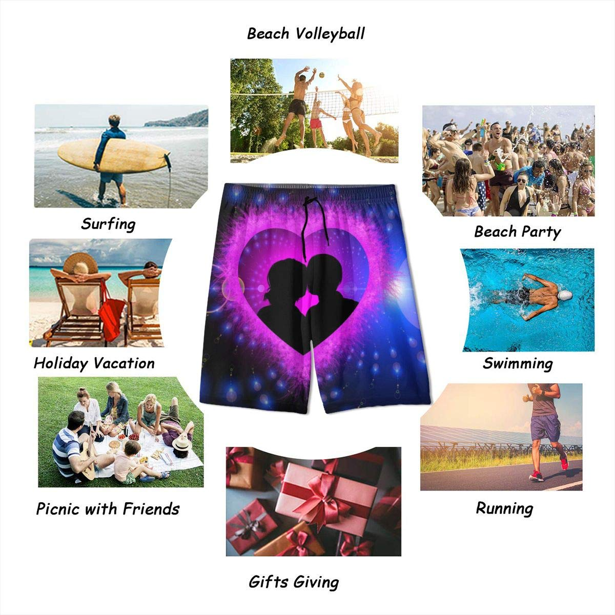 Rigg-pants Boys Comfortable Hawaii Surfing Leisure Cool Beach Shorts Swim Trunks Board Shorts
