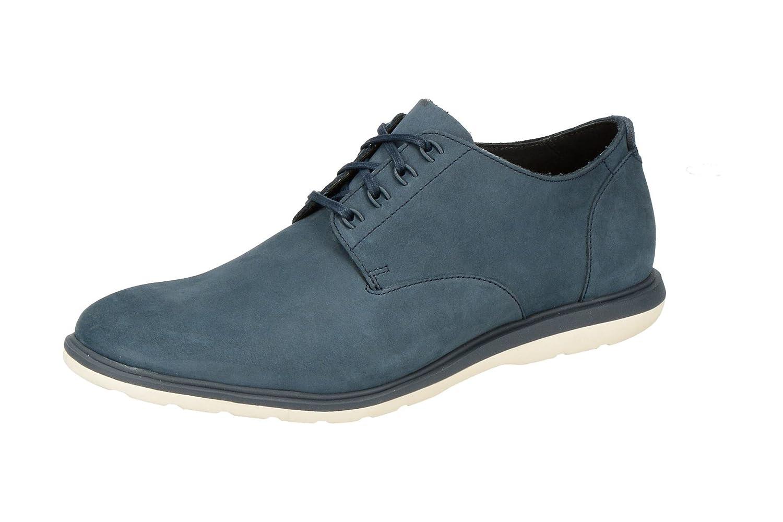 TALLA 41.5 EU. Clarks Zapatos Derby Glaston A Pie Para Hombre