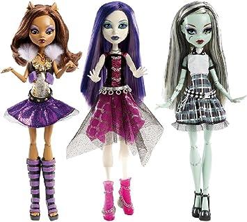 Amazon.es: Monster High Ghouls Alive - Muñecas - surtido:modelos y colores aleatorios: Juguetes y juegos