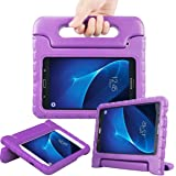 AVAWO Samsung Galaxy Tab E Lite 7.0 inch Kids Case - ShockProof Case Light Weight Kids Case Super Protection Cover Handle Stand Case for Children for Samsung Galaxy Tab E Lite 7-Inch Table (Purple)