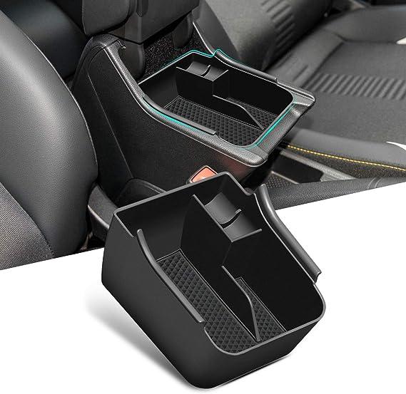 Lfotpp Auto Armlehnen Organizer Für Polo Mk6 Mittelkonsole Armlehnentablett Handschuhfach Aufbewahrungsbox Innenzubehör Auto