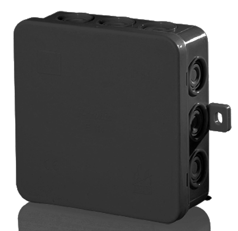 SD7 Abzweigdose Verteiler Kabel SD 7 Feuchtraum Kabeldose schwarz ...