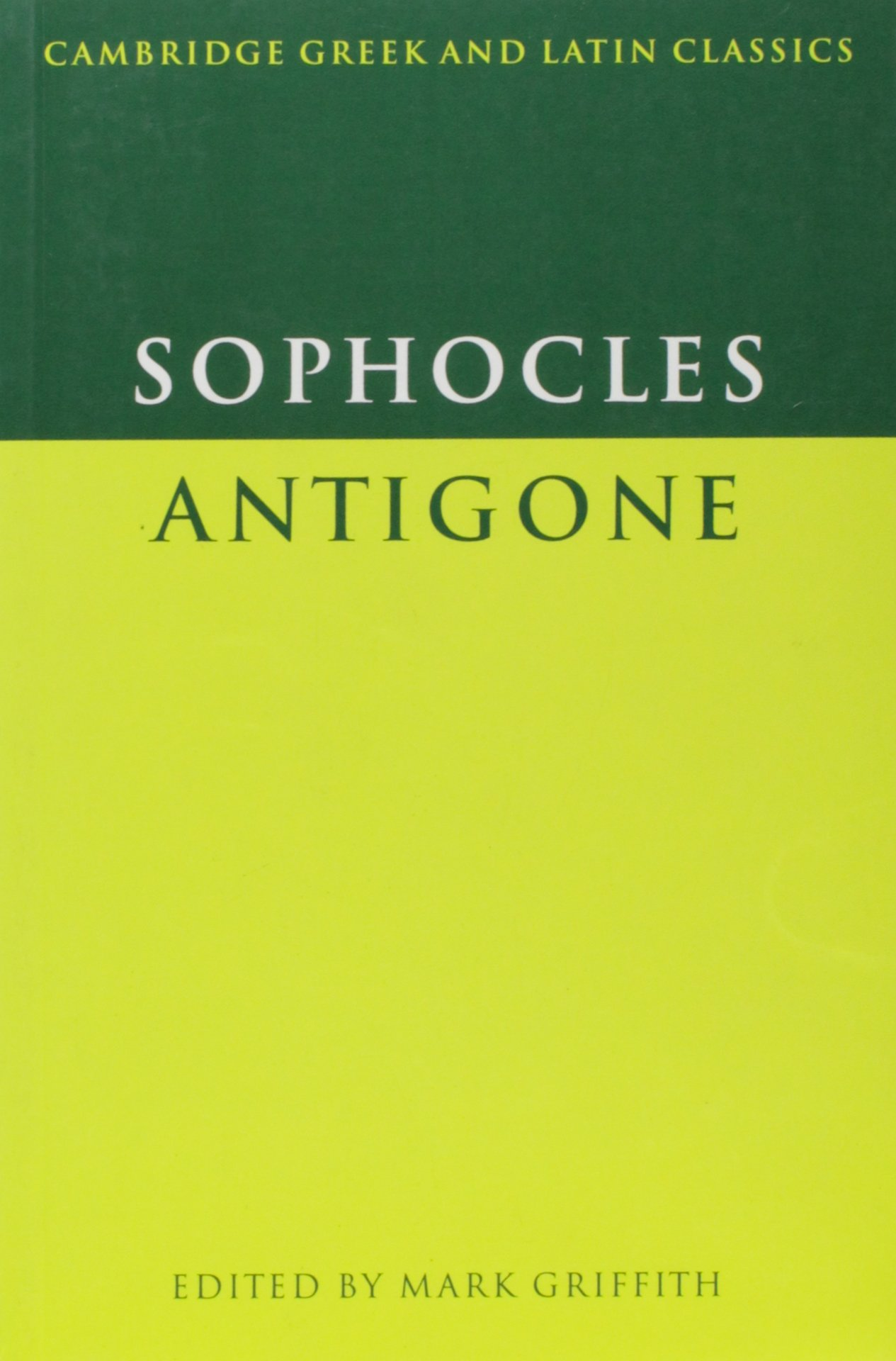 Sophocles  Antigone (Cambridge Greek and Latin Classics)  Amazon.co ... 18a1437a324ac