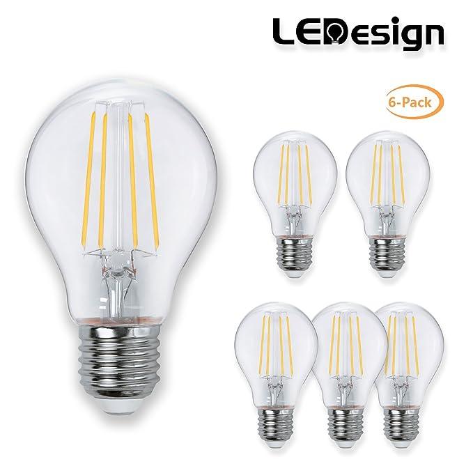 LE Bombillas G4 LED 3W~40W Halógena Blanco cálido Pack de 6 bombillas bipin: Amazon.es: Iluminación