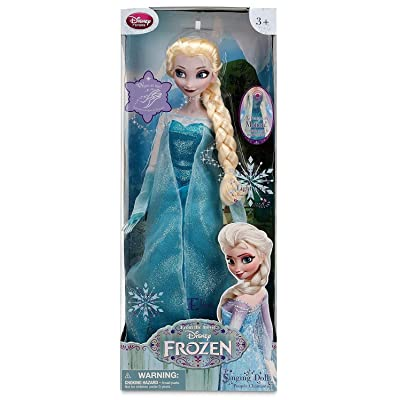 """FROZEN Motion Activated SINGING & LIGHT Up ELSA DOLL 16"""" Doll Sings """"LET IT GO"""" DISNEY STORE EXCLUSIVE (2013): Toys & Games"""