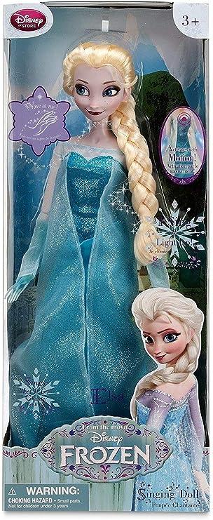 "Disney/'s Frozen Singing Snow Princess Elsa Doll Sings /""Let It Go/"" Musical Figure"