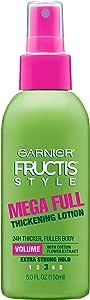 Garnier Fructis Style Mega Full Thickening Lotion, All Hair Types, 5 oz. (Packaging May Vary)