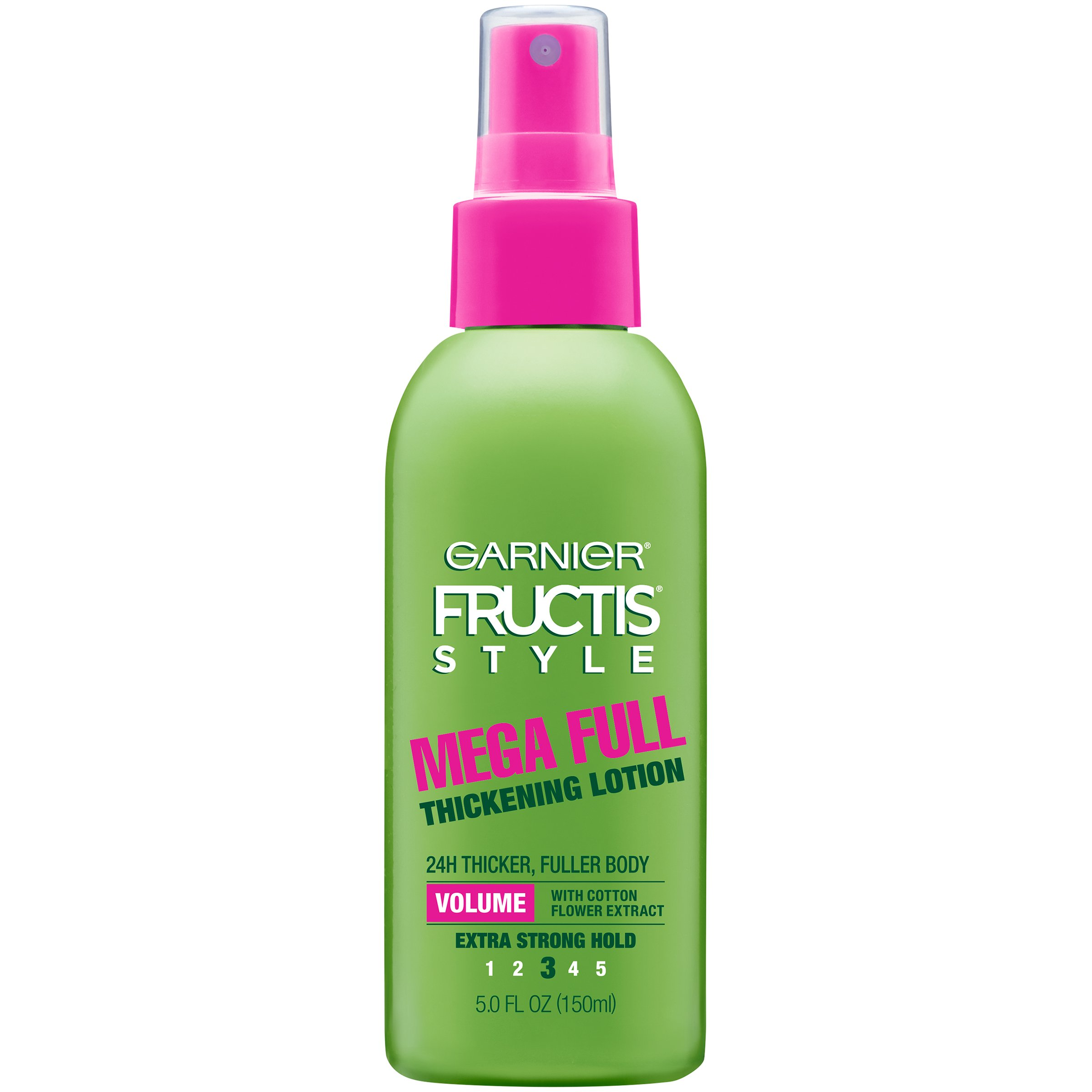 Garnier Fructis Style Mega Full Thickening Lotion, All Hair Types, 5 oz. (Packaging May Vary)