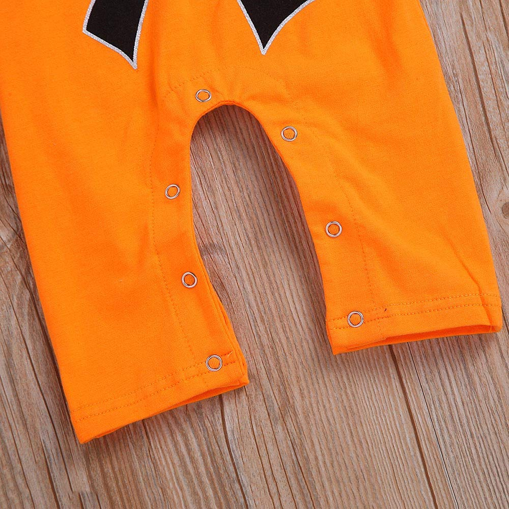 KaiCran Baby Boys Girls Cute Wukong Jumpsuit Romper Outfit Long Sleeve Creepers Bodysuit Clothes