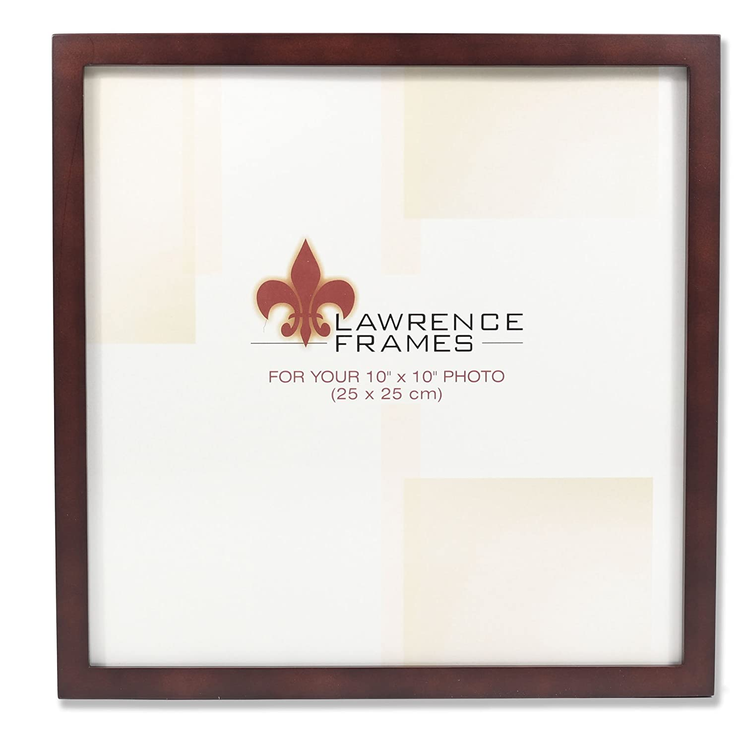 Amazoncom Lawrence Frames 755910 Espresso Wood Picture Frame 10